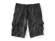 Aeropostale Mens Erngth Solid Basic Casual Cargo Shorts 079 27