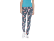 Aeropostale Womens Ashley Ultra Floral Pattern Skinny Fit Jeans 001 11/12x30