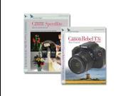 Blue Crane Digital Canon T3i /600D Instructional DVDs 2 Pack Volume 1 & Flash