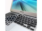 GMYLE(R) Black Silicon Keyboard Cover (US Layout) for Samsung ARM 11.6 Chromebook Series 3 XE303C12