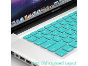 GMYLE Turquoise Robin Egg Blue Keyboard Cover for Macbook Air Pro 13 15 15 Pro Retina 17 US model OS 10.7 New Layout