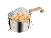 Great Northern Popcorn Original Stainless Stove Top 6 1/2 Quart Popcorn Popper