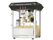 "Great Northern Popcorn Company Black Bar Style ""Lincoln"" 8 Ounce Antique Popcorn Machine (Black) (25""H x 21""W x 18""D) 6015"