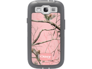 OtterBox 77-25459 Defender Realtree Series Hybrid Case and Holster for Samsung Galaxy S III - 1 Pack - Retail Packaging - AP Pink