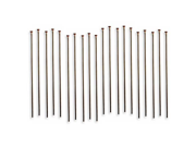 Vintaj Natural Brass Head Pins 24 Gauge 1.5 Inch (20)