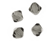 """Czech Crystal Bicone Beads 6mm """"Antique Grey"""" (20)"""