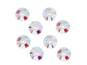 Swarovski Crystal, #3128 Round Sew-On Stones Center Hole 4mm, 50 Pcs, Crystal AB