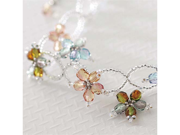Create Your Own DIY Miyuki Glass Bead Bracelet Kit - Czech Flowers