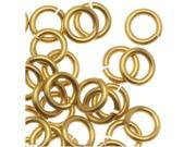 Chain Maille Jump Rings Brass 18 Gauge/Id 3.57mm 110Pc