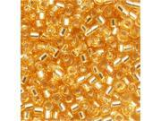 "Delica 11/0 Seed Beads ""Silver Lined Gold"" Db042 7.2 Gr"