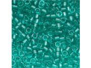 Delica 11/0 Seed Beads Trns Caribbean Teal Db1108 7.2Gr