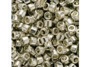 Miyuki Delica Seed Beads 11/0 Galvanize Silver Db035