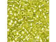 Delica 11/0 Seed Bead Silver Lined Chartreuse Db147 7Gr