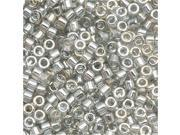 Delica 11/0 Seed Beads Transp. Grey Luster Db114 7.2 Gr