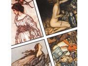 Collage Sheet 'Arthur Rackham Art' 35mm Squares (1 Sheet)