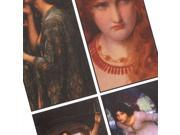 Collage Sheet 'Pre-Raphaelite' 24x48mm Rectangles (1 Sheet)