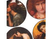 Collage Sheet 'Pre-Raphaelite' 35mm Circles (1 Sheet)