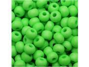 Czech Seed Beads 6/0 - Neon Green (25 Grams)