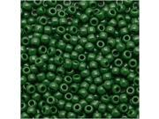 Toho Round Seed Beads 11/0 #47H - Opaque Pine Green (8 Grams)
