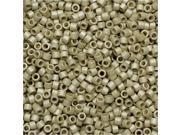 Miyuki Delica Seed Beads 11/0 - Matte Galvanized Silver DB335 7.2 Grams