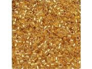 Miyuki Delica Seed Beads 11/0 - 24K Gold Lined DB033 7.2 Grams