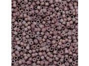 Miyuki Delica Seed Beads 11/0 - Matte Metallic Old Rose DB379 7.2 Grams