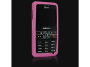 Hot Pink Silicone Protector Skin Case For Samsung Access A827