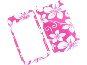 Two Piece Plastic Design Phone Cover Case Pink Hawaii For Motorola Stature i9