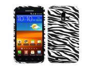 Zebra Skin Design TPU Plastic Gummy Skin Phone Case for Samsung Galaxy S2 4G Epic 4G Touch
