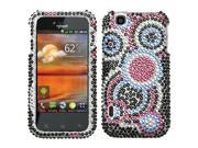 Hard Plastic Diamante Bubble Phone Protector for T-Mobile myTouch by LG E739