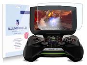 "iLLumiShield – NVIDIA Project Shield 5"" HD Blue Light UV Filter Screen Protector Clear Film / Anti-Fingerprint / Anti-Bubble / Anti-Bacterial Shield - Free LifeTime Replacement – [2-Pack]"