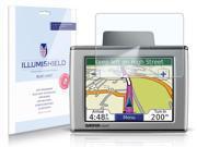 iLLumiShield – Garmin nuvi 350 GPS HD Blue Light UV Filter Screen Protector Clear Film / Anti-Fingerprint / Anti-Bubble / Anti-Bacterial Shield - Free LifeTime Replacement – [2-Pack]