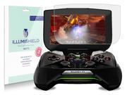 "iLLumiShield - NVIDIA Project Shield 5"" Anti-Glare Matte Screen Protector HD Clear Film / Anti-Bubble & Anti-Fingerprint / Premium Invisible Crystal Shield – Free Warranty – [3-Pack] Retail Packaging"