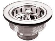 Belle Foret BFNKBS1SS Kitchen Sink Basket Strainer, Stainless Steel