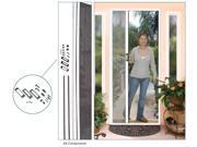 """CRL White 96"""" Euro Retractable Screen Door Kit - ES98W"""