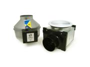 Fantech PB110F Premium Bath Fan Kit with Fluorescent Light - 110 CFM