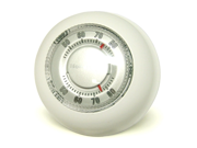 Honeywell Round Mercury Free Heat Only Thermostat