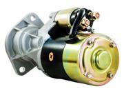 NEW STARTER MOTOR KOMATSU SKID STEER SK1020-D SN 37CF00004-UP YM123900-77010