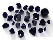 Sight Holder Diamonds - 25ctw Assorted Dark Blue Sapphires