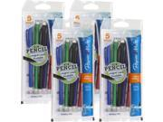 Papermate Write Bros. Mechanical Pencils, 0.7mm, Assorted Colors, 20/Pack