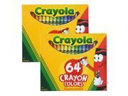 Crayola 128 Count Assorted Wax Crayons (52-0064)