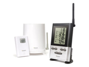 Wireless Rain Gauge w/ Thermometer