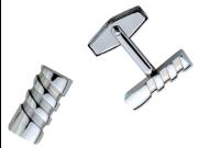 Twist Stainless Steel Cuff Links
