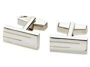 Janus Nickel Chrome Plated Cuff Links
