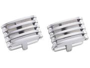 Pierce Stainless Steel Cufflinks