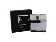 F Black by Salvatore Ferragamo Eau De Toilette Spray 3.4 oz for Men- 463917