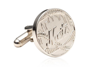 NY Giants Silver tone Edition Cufflinks