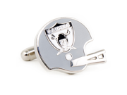 Retro Oakland Raiders Helmet Cufflinks