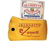J.R.Liggett's EZ-Pouch Ultra Balanced Bar Shampoo with EZ Carry Case - 1 Bar