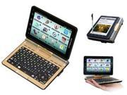 ECTACO Partner LUX English <-> Russian Free Speech Electronic Dictionary and Android Tablet with Convertible QWERTY Keyboard